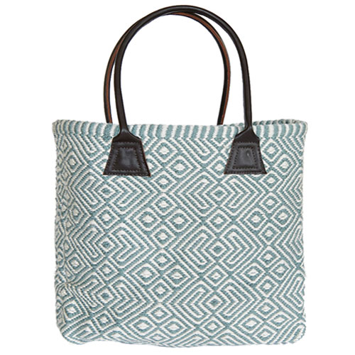 Recycle PET bottle bagblue gray