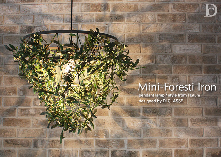 Mini-Foresti Iron pendant lamp