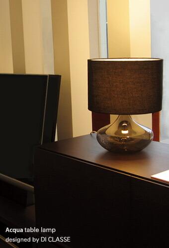 アクア テーブルランプ