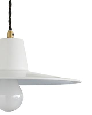 Bacino pendant lamp white