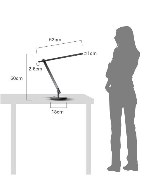 LEDサーベル大きさ比較画像