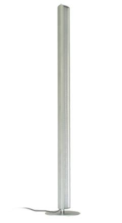 LED Tramonto floor lamp silver