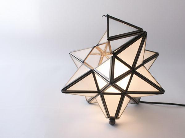 Etoie table lamp clear シェード開閉