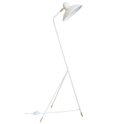 アルル フロアランプ ホワイト デザイン照明のディクラッセ