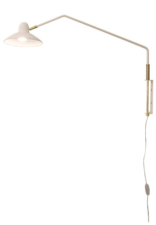 Arles wall lamp white