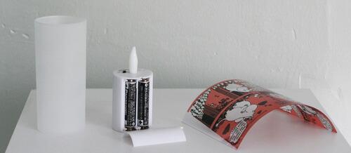 クオーレ ムーミン LEDキャンドル セット内容