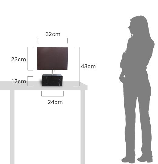 LEDマレッゾテーブルランプ 比較画像