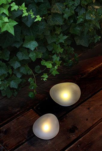 LED ソーラー ストーン
