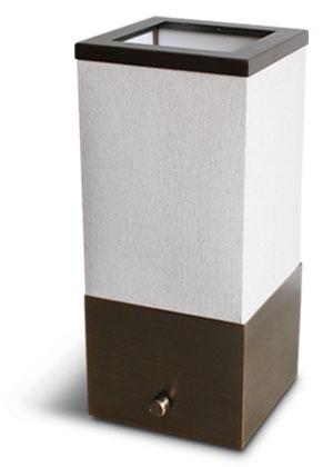 トモス テーブルランプ アンティークブラウン