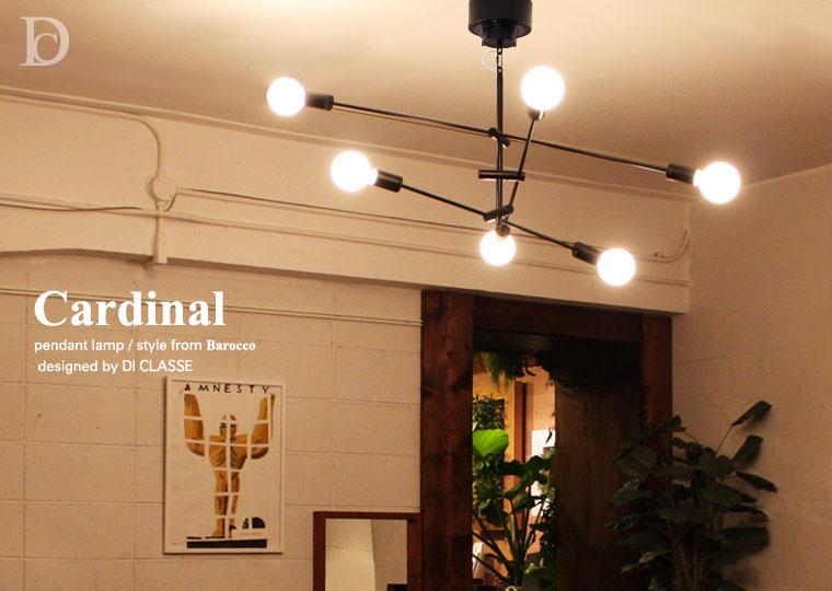 Cardinal pendant lamp