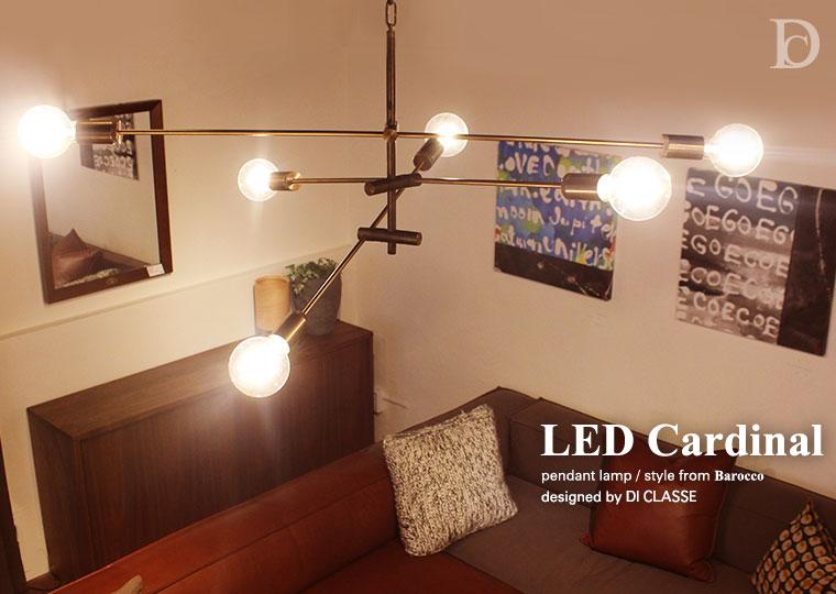 LED Cardinal pendant lamp