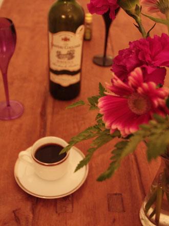 夕暮れの森コーヒー