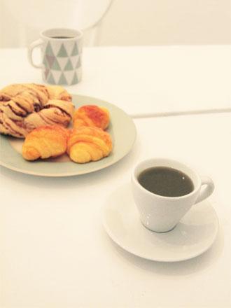 早朝の森コーヒー