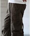 diablos(ディアブロス)REAL CRUSH フラップポケット裾ジップツイルカーゴパンツ