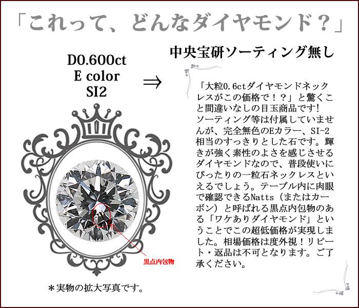ダイヤモンドの特徴0600esi2none