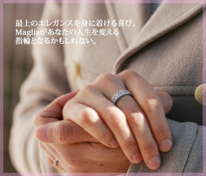 THJ「Maglia」リングD0.7ctmodel