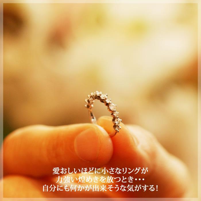 THJヴィクトリアン エタニティピンキーリング D0.3ct♪modelダイヤモンド専門店THJ