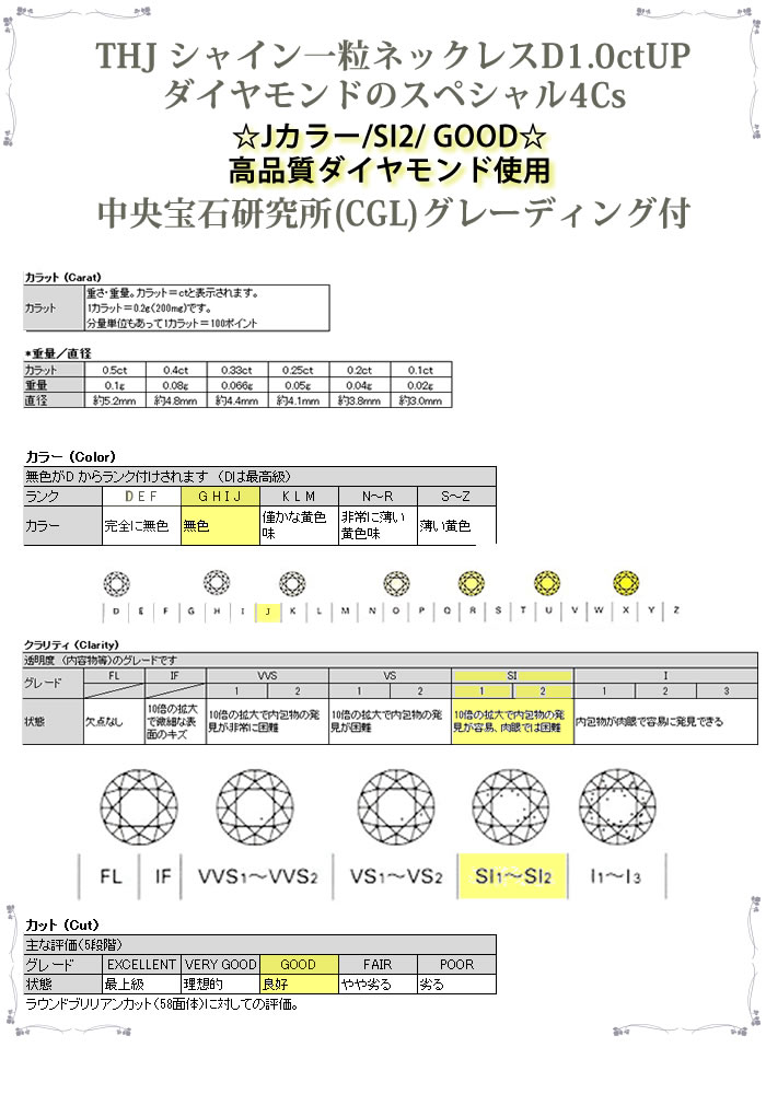 THJの4Cs D1ctup/J/SI2/Good