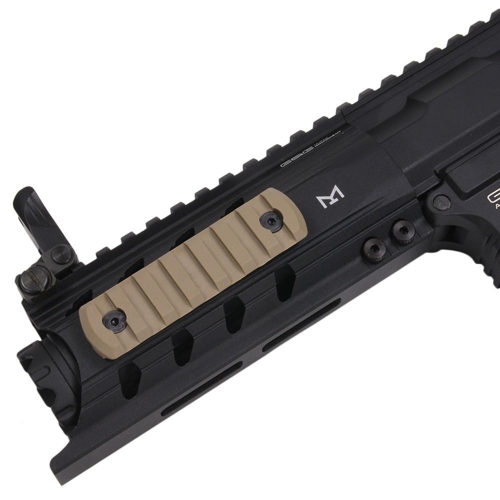 DLG Tactical 実物 レイルパーツ M-LOK対応 ポリマーレールセクション