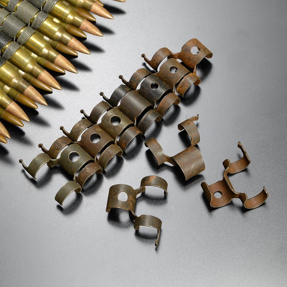 ベルトリンク 弾帯 スチール製 分離式 トイガン・モデルガン用