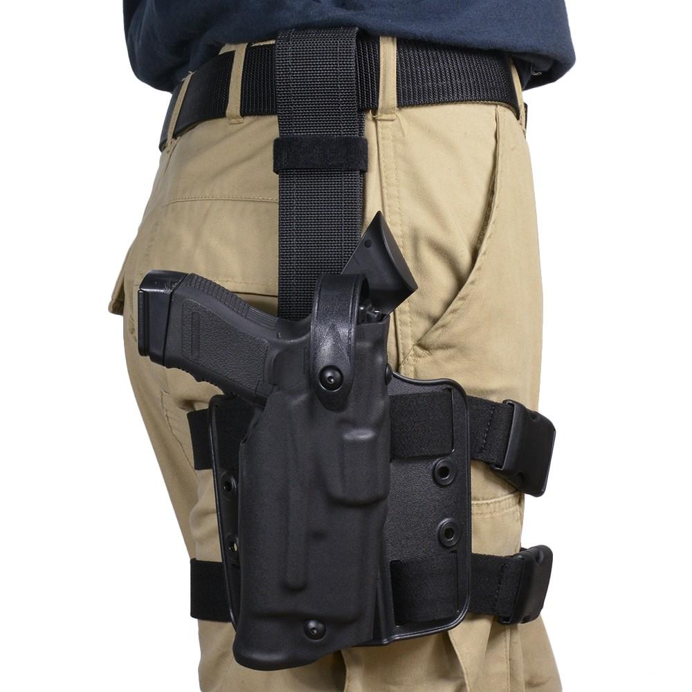 Safariland leg holster Glock19 23 light-adaptive right W lock system  2bfafd704