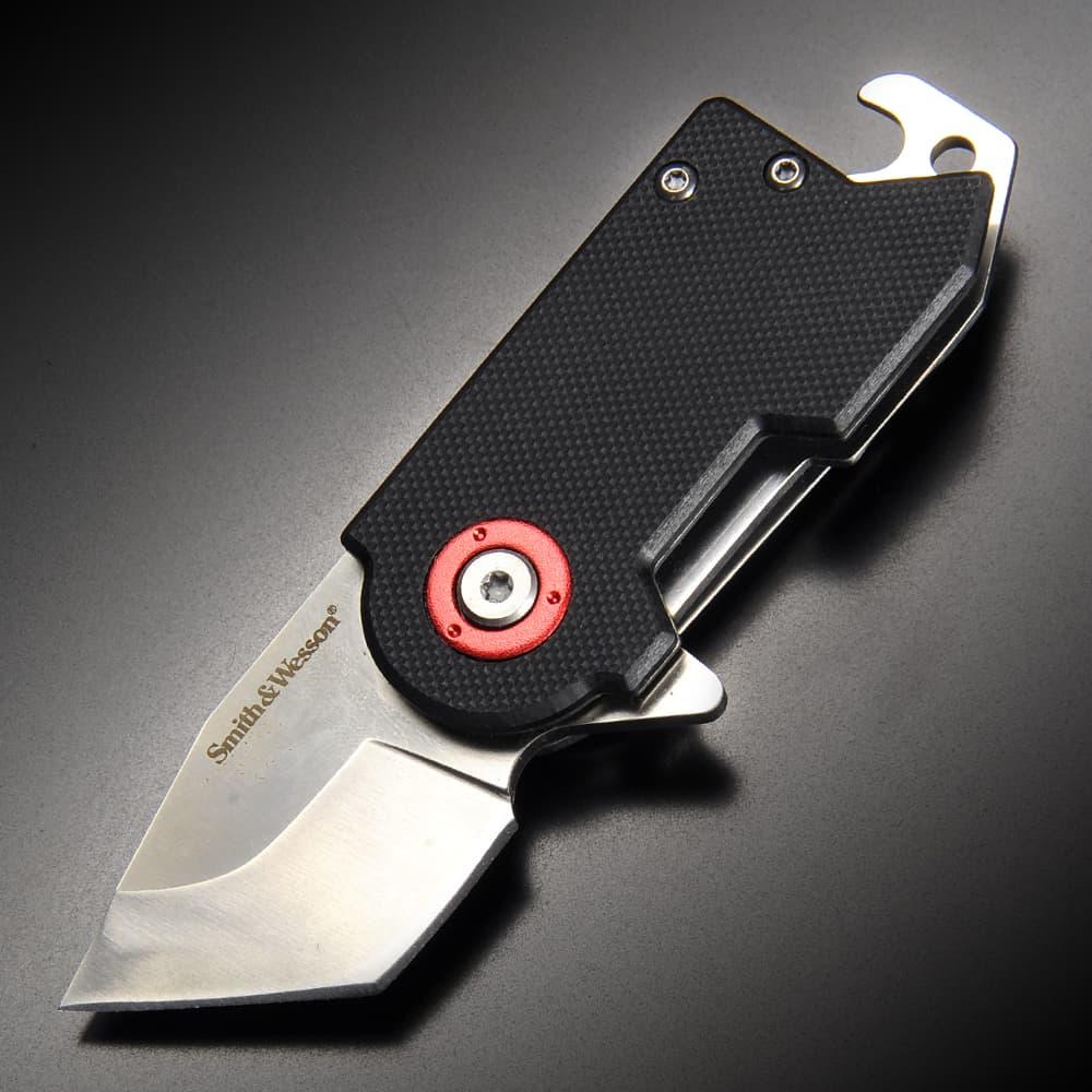S&W 折りたたみナイフ BENJI ライナーロック式