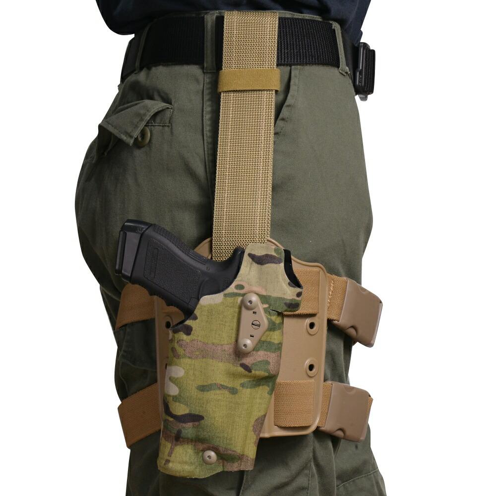 Safariland レッグホルスター ALS オプティック グロック17 3rd X300 適合