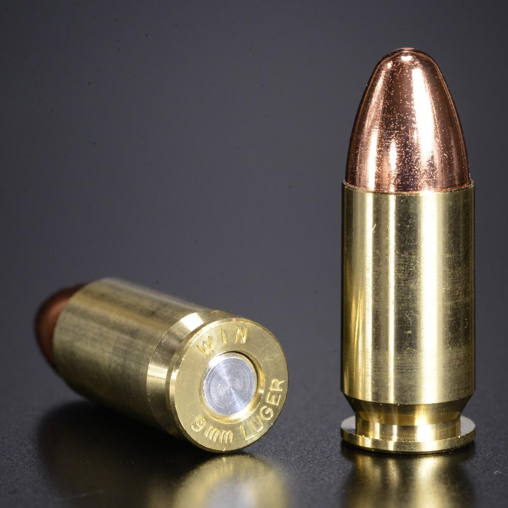 KSC ダミーカート 9mm ルガー M93R用 フルメタル製 10発入