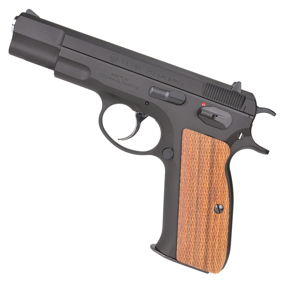 Carom shot wood grips rosewood full checking for CZ75 gun custom parts  custom grips