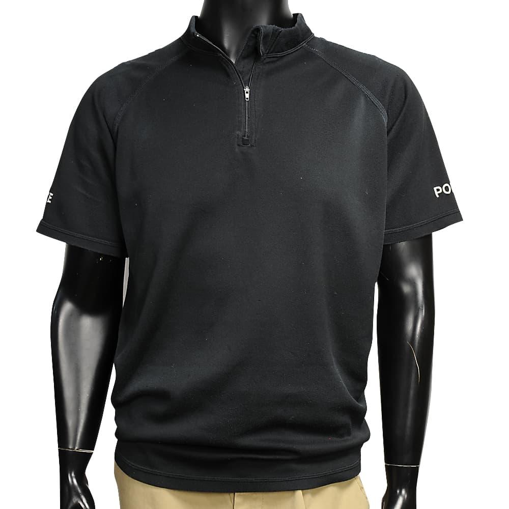 イギリス警察 放出品 ポロシャツ 警官服 帯電防止 半袖