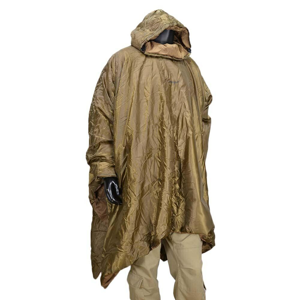 snugpak rain poncho liner are coyote tan