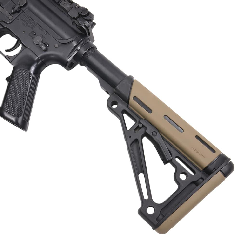 HOGUE 実物 スケルトンスタイル バットストック COLLAPSIBLE AR15/M16対応