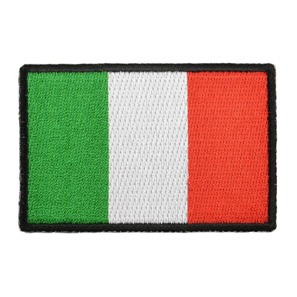 ミリタリーパッチ イタリア国旗 アイロンシート付