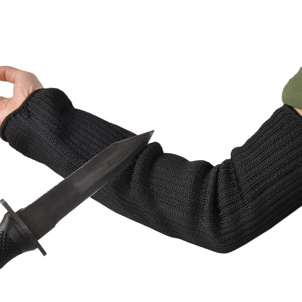 防刃スリーブ 1双組 ステンレスワイヤー編込