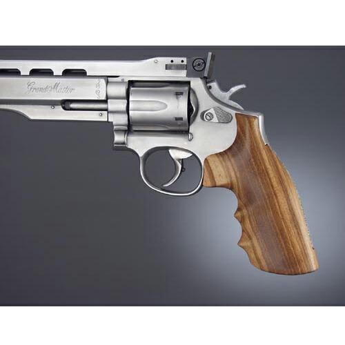 10200 wooden HOGUE handgun custom parts custom grip Smith & ウエッソンスミス &  Wesson for the Hoge cancer grip S & W K & L frame