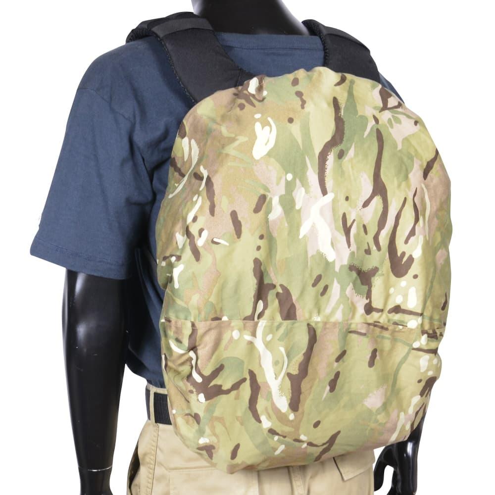 イギリス軍放出品 バックパックカバー バックル付き MTP迷彩