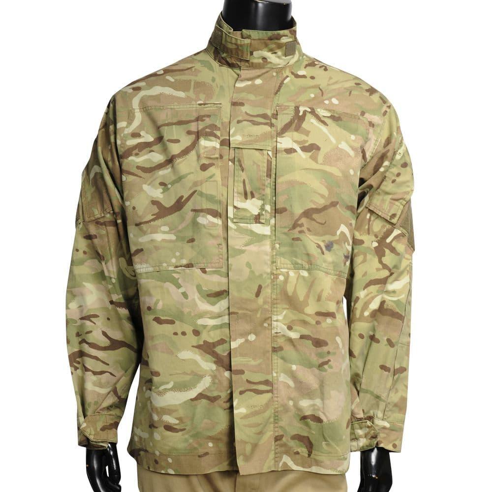 イギリス軍放出品 コンバットジャケット MTP迷彩 BDU 軍用戦闘服