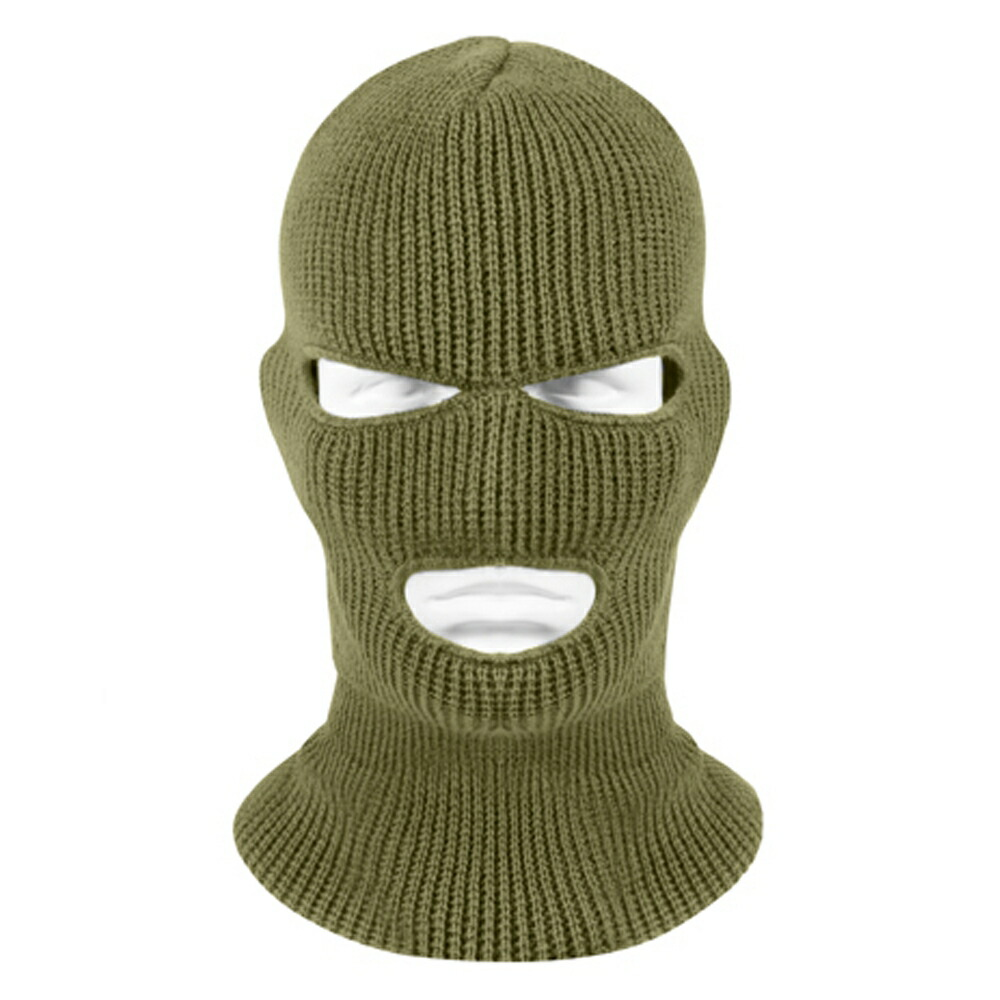 Rothco フェイスマスク 目出し帽 バラクラバ アクリル
