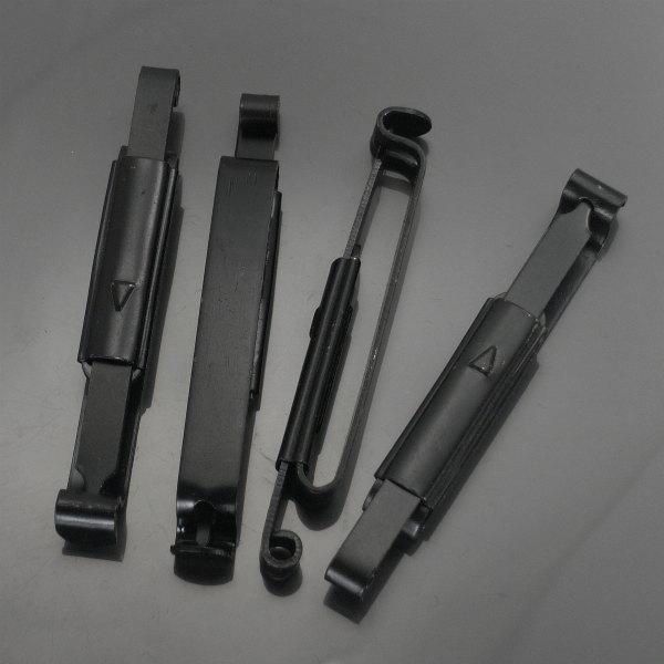 アリスクリップ  4本セット MOLLE対応 金属製