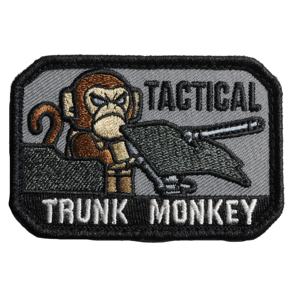 MIL-SPEC MONKEY パッチ Tactical Trunk Monkey ベルクロ付き