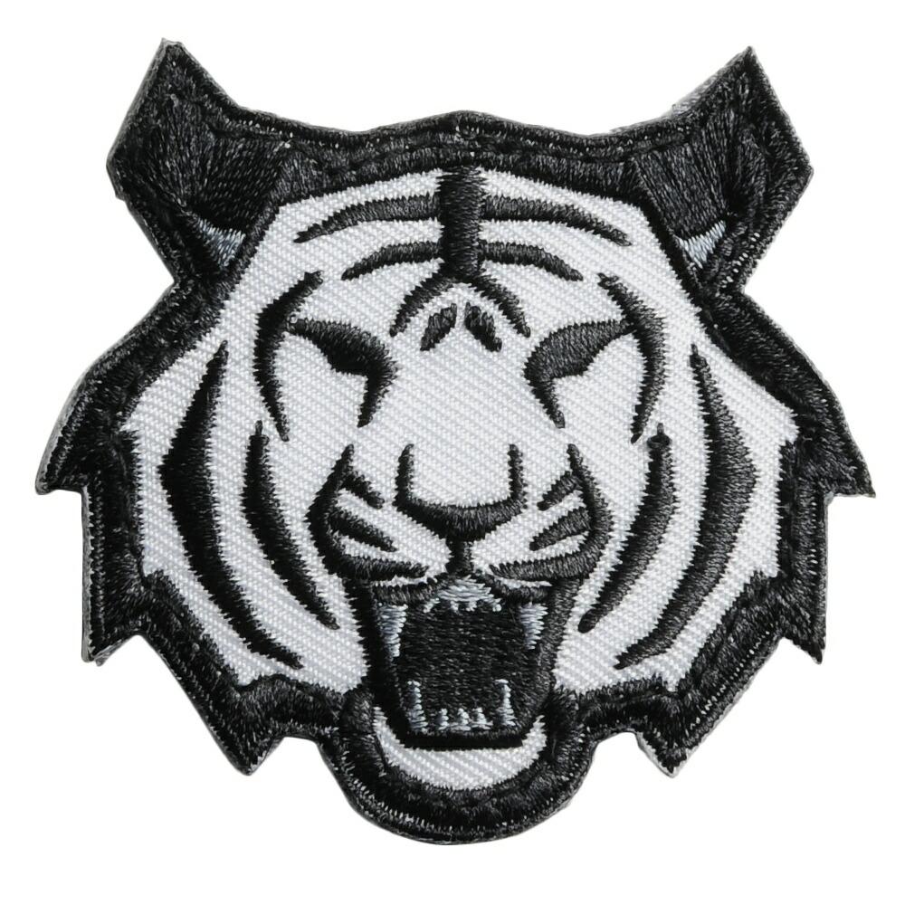 ミルスペックモンキー Tiger Head パッチ ベルクロ付き