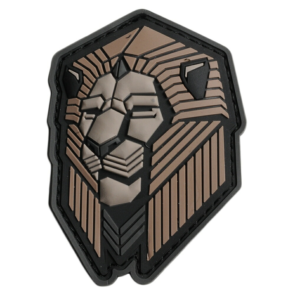 MIL-SPEC MONKEY パッチ Industrial Lion ベルクロ PVC