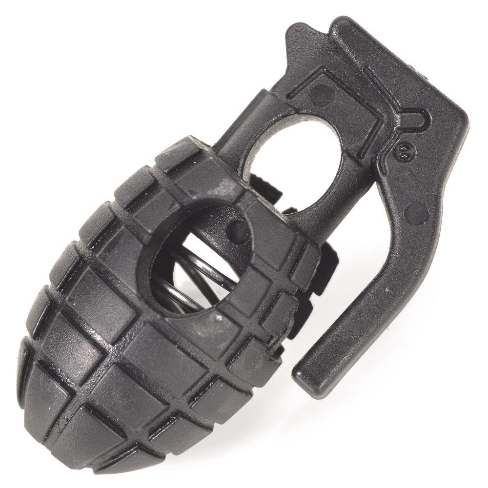 コードストッパー 手榴弾型 コードロック 紐止め