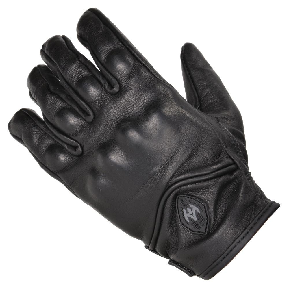 Tactical Glove,L,Black,Leather,PR DAMASCUS ATX95