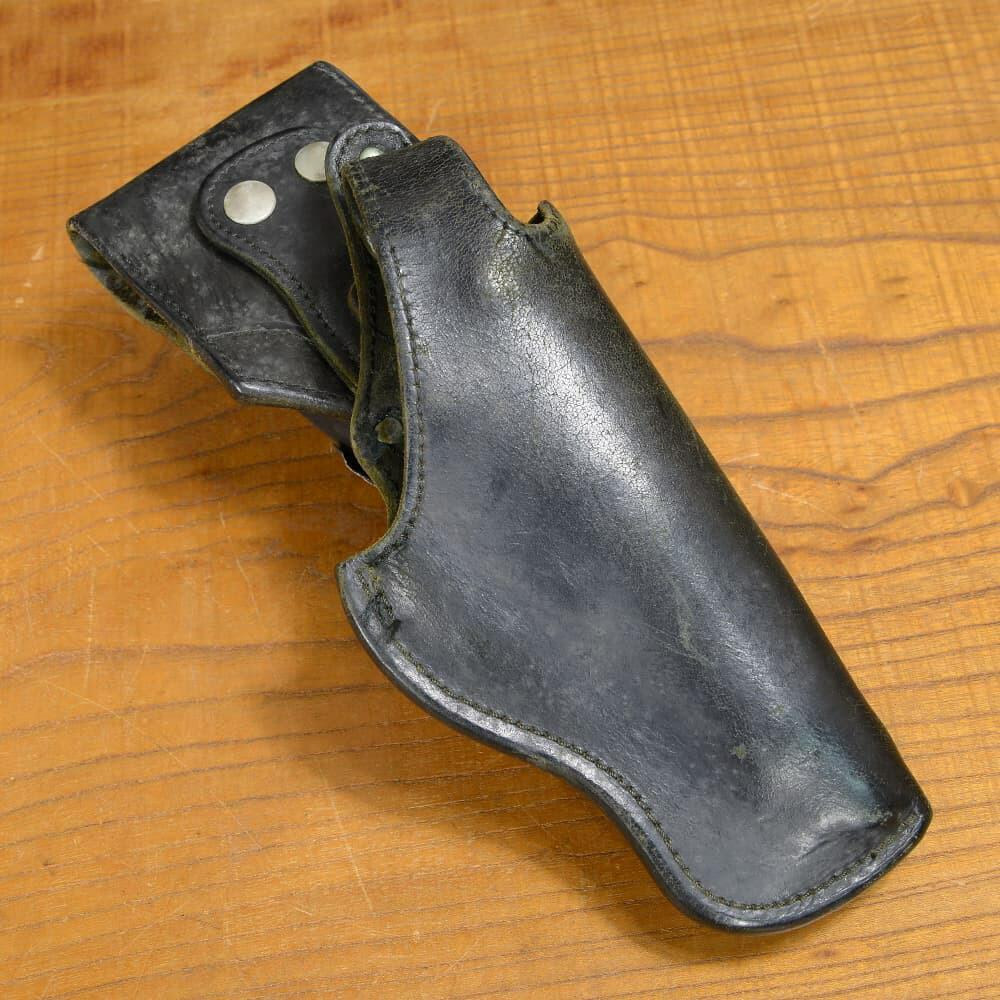 フランス警察 放出品 ピストルホルスター 革製 MAC50・PAMAS G1他対応