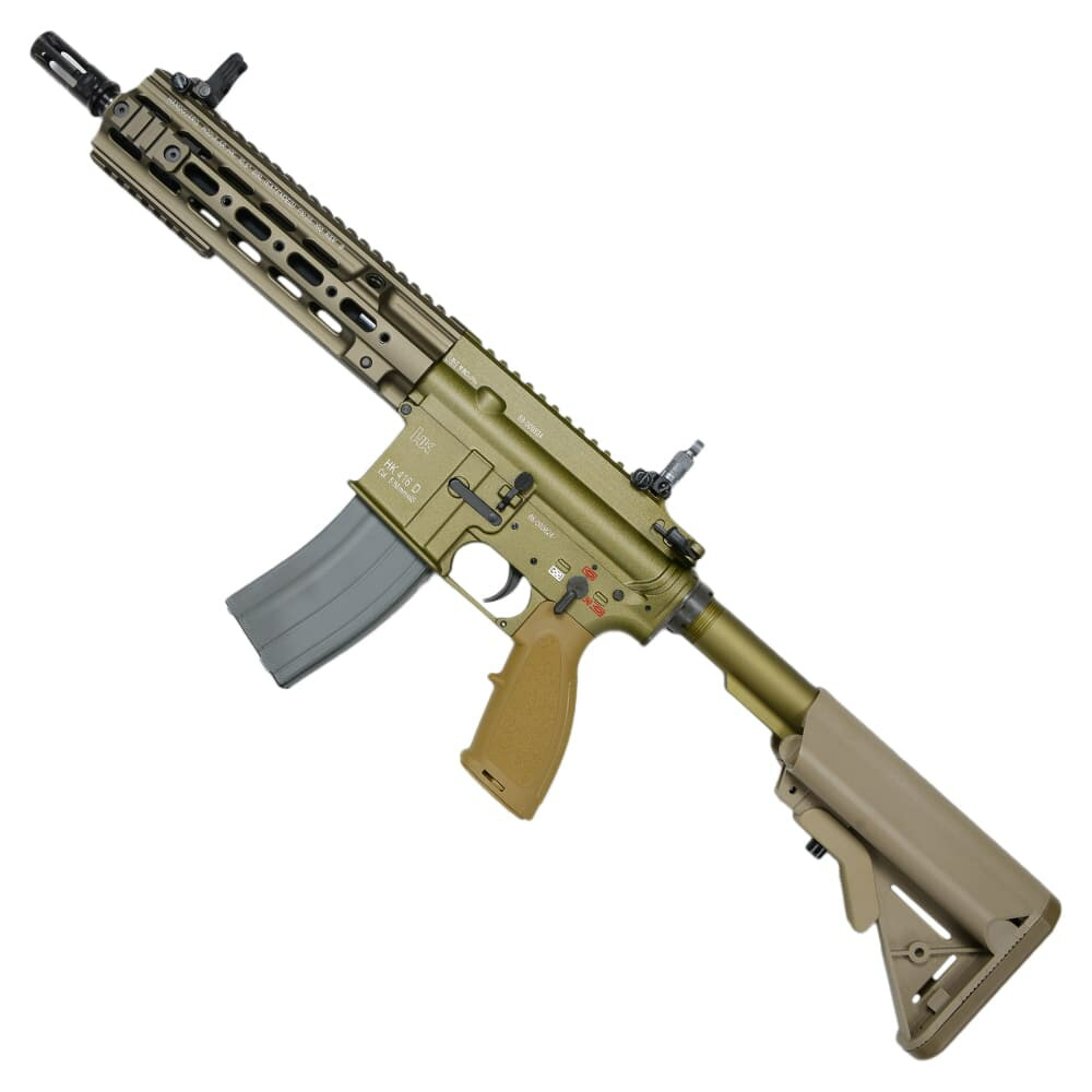 UMAREX ガスブローバック H&K HK416D CAG Gen2 公認ライセンス JP.Ver