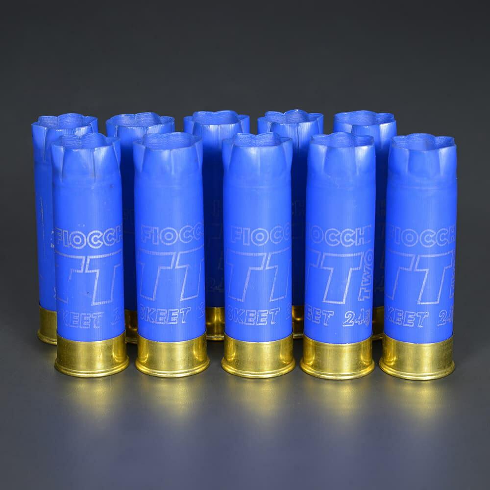 フィオッキ 空薬きょう SKEET 12ゲージ ブルー10個セット