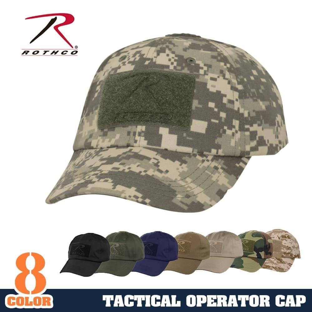 Repmart  Rothko operator Cap tactical 9362  Black  wear hats Rothco ... 3e645ec7a7c3