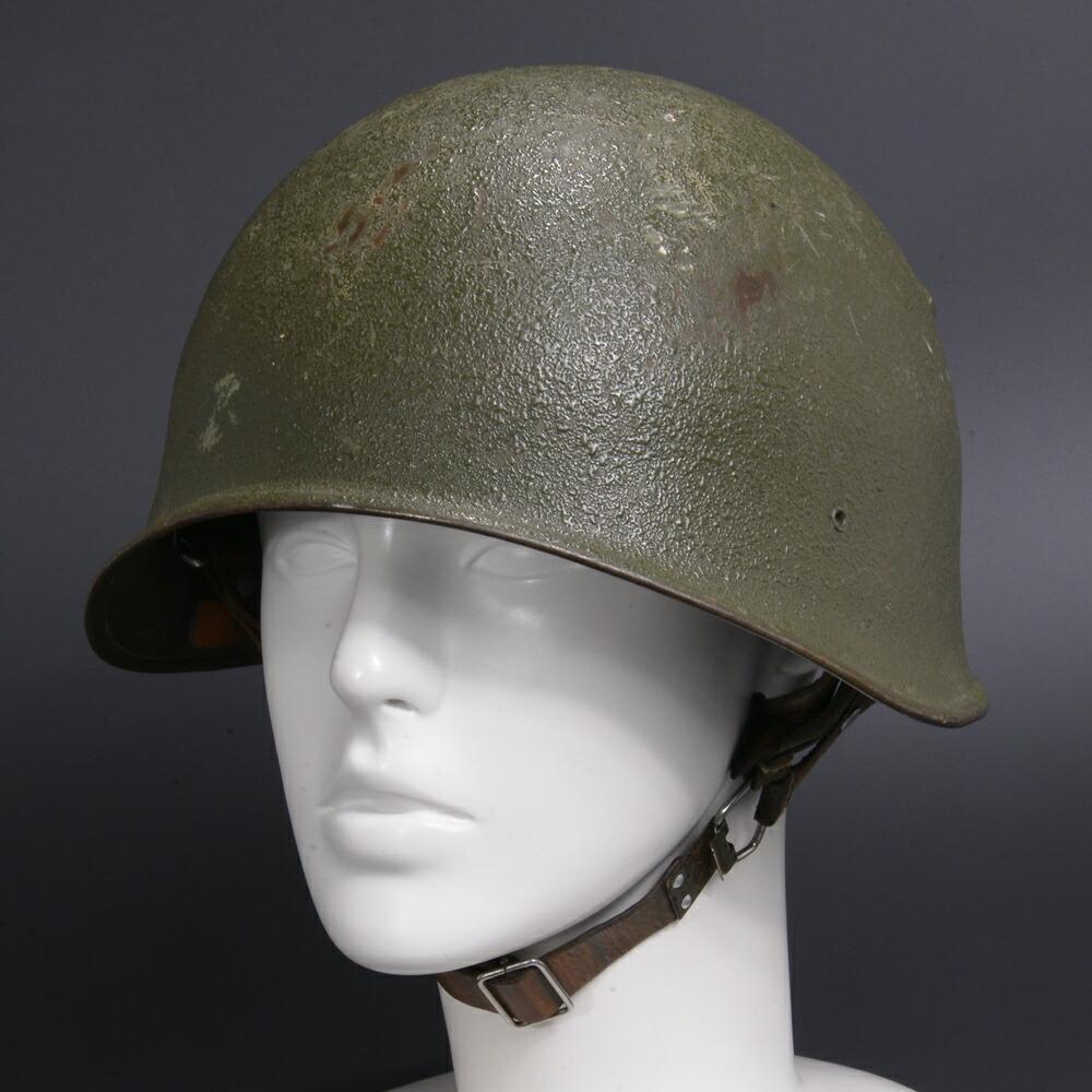 スイス軍放出品 ヘルメット M71 スチール製