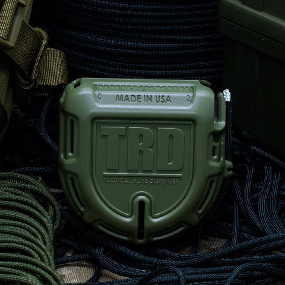 ATWOOD ROPE 15mパラコード付 ロープディスペンサー TRD